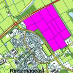 circa 19 grasland gelegen nabij Rinsumageast (kruising Lauwerseewei)