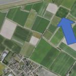 Ca. 2 ha bouwland aan de Dyksterwei nabij Nes
